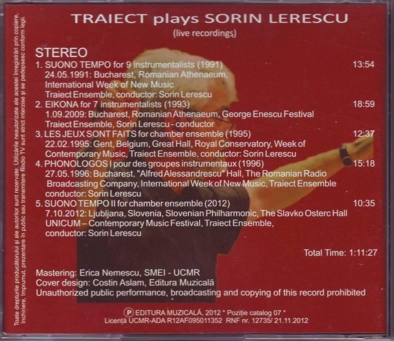 CD Traiect (coperta spate)