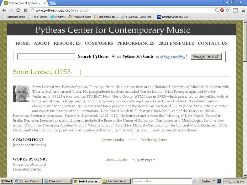 Sorin Lerescu (Pytheas Center for Contemporary Music) 01